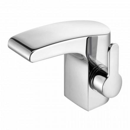 Grifo para lavabo de baño de latón cromado sin desagüe, alta calidad - Gonzo