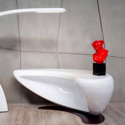 Escritorio de oficina de diseño moderno Boomerang hecho en Italia