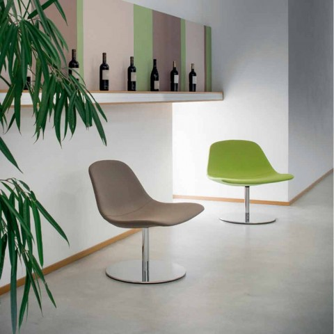 De En Con Moderna Redonda Oficina By Llounge Silla Italia LuxyHecha Base EYID29WH