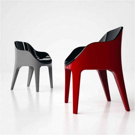 Silla de diseño de Solid Surface® fabricada en Italia Pointer