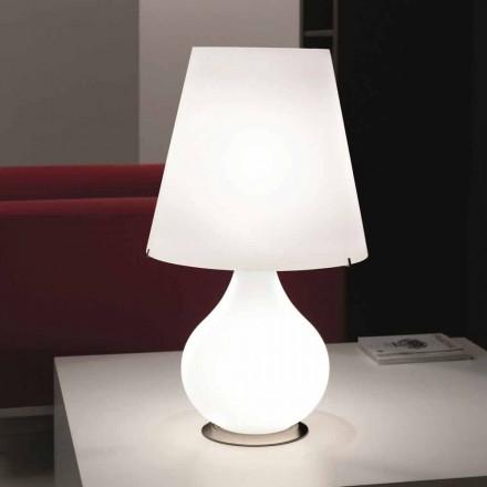 Selene lámpara siempre mesa de vidrio soplado Ø41 H 72cm