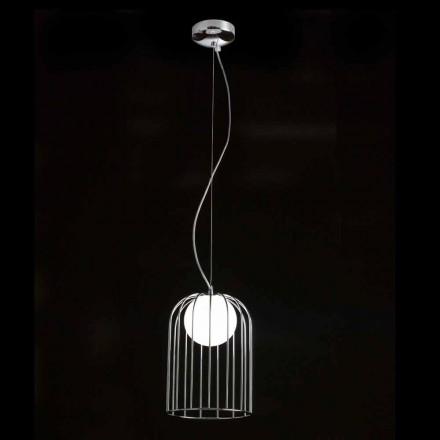 Selene Kluvì lámpara de techo de vidrio soplado Ø19 H 27 / 150cm