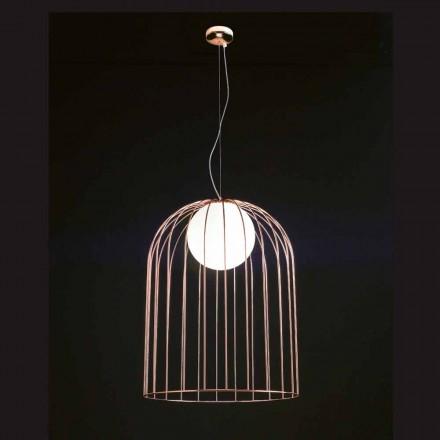 Selene Kluvì lámpara de techo de vidrio soplado Ø54 H 70 / 200cm