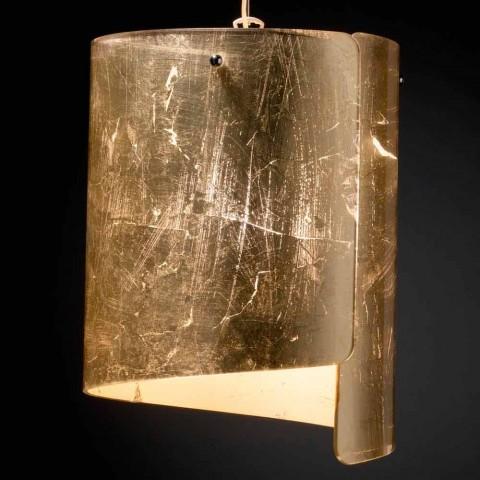 colgante Ø26 lámpara cristal Papiro moderna de H Selene 125cm QrdCtshx