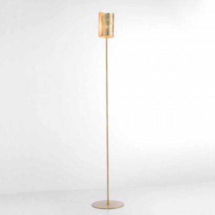 Selene Papiro lámpara de pie de diseño de cristal Ø15 H 180cm