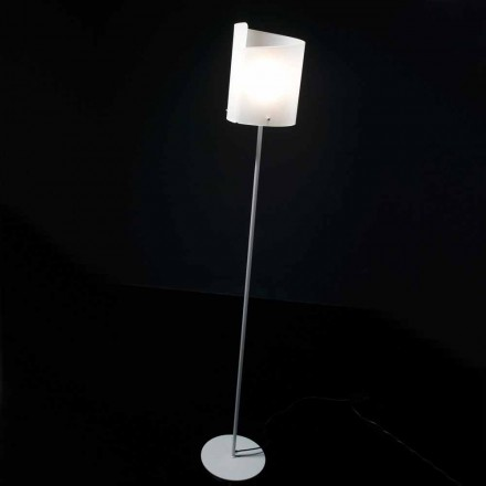 Selene Papiro lámpara de pie de diseño H185cm cristal Ø26