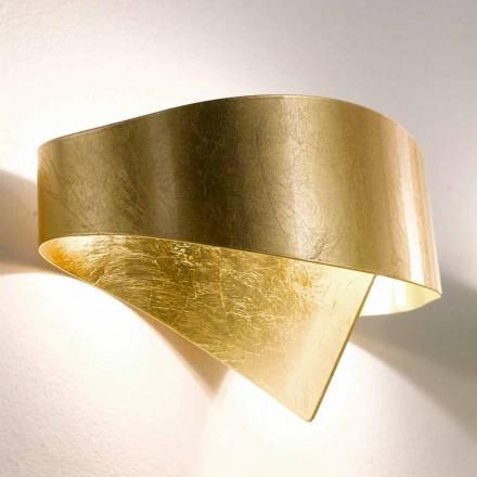 lámpara de pared moderna Selene hecho en Italia Escudo 29x15xH16 cm