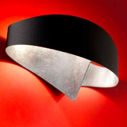 lámpara de pared Selene Escudo de dos tonos 29x15xH16 diseño moderno cm