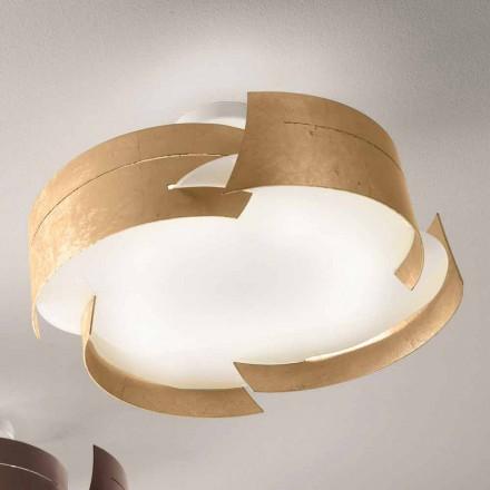 Selene Vultur diseño del techo Ø59,5 H 25 cm Made in Italy