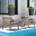 Set de 2 sillones de jardín en Aluminio modelo Step