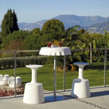 Taburete alto para bar al aire libre Modern Slide Drink hecho en Italia