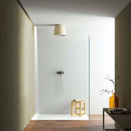 Rociador de ducha redondo de techo fabricado en Luxolid Italia, Ruda
