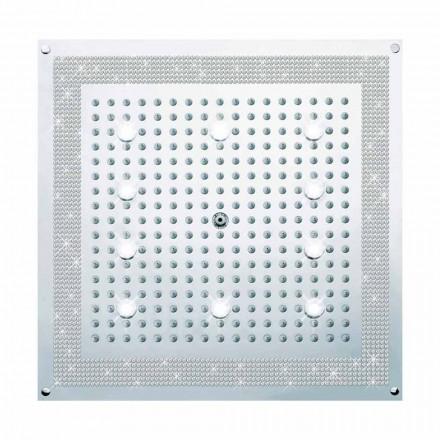 Rociador de ducha con LED y Swarovski modelo Dream Bossini