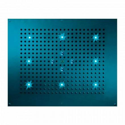 Rociador ducha de techo 2 chorros y cromoterapia Dream Neb