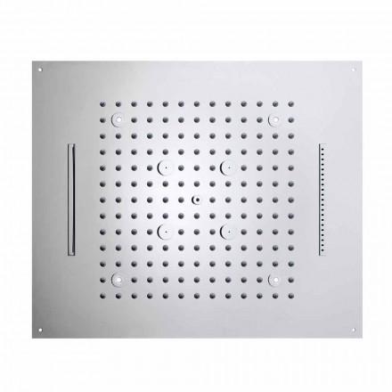 Rociador de ducha moderno con 4 funciones y LED modelo Dream