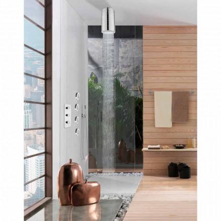 Rociador de ducha original de diseño con Swarovski Bossini