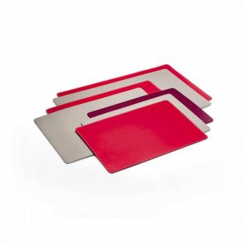 Almohadilla de escritorio de cuero fácil