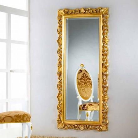 piso de espejo / diseño de la pared con acabado en pan de oro Mata