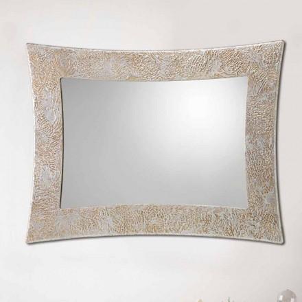 Espejo de diseño de pared Venezia realizado en Italia