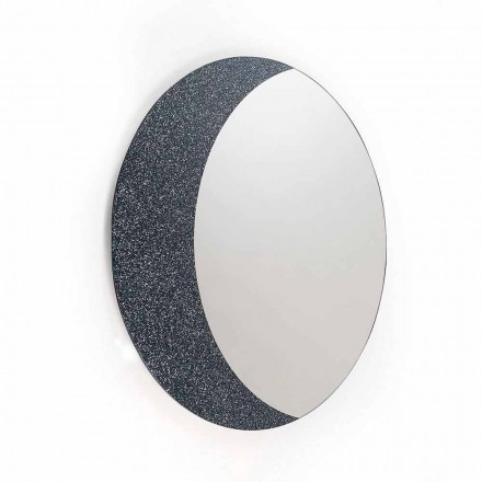 Un espejo de la pared del 100% Made in Italy diseño contemporáneo Aldo