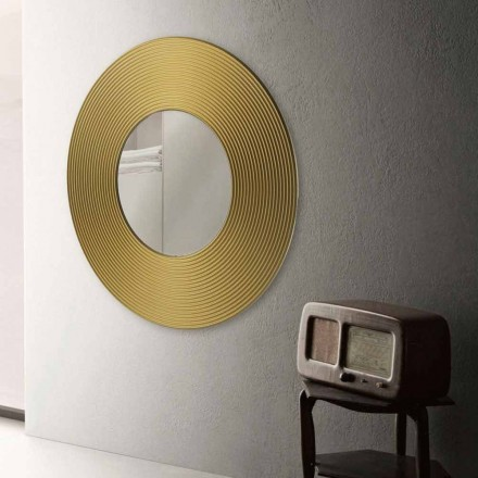 espejo de pared de diseño moderno Malva, diferentes colores disponibles