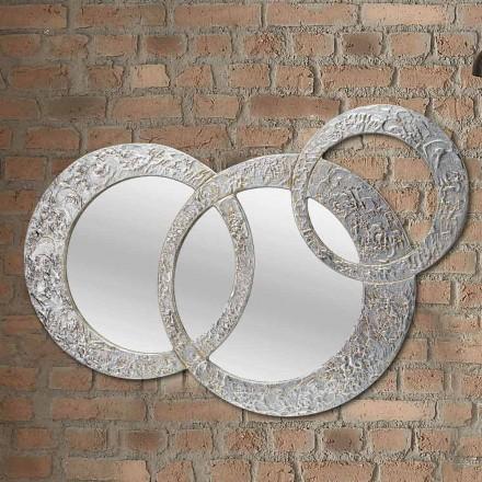 Espejo moderno de pared Cortina de Viadurini Decor