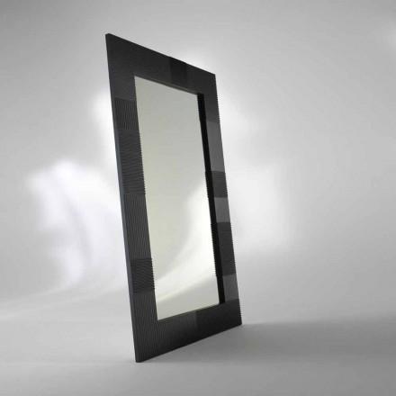 Espejo planta rectangular Thalia, diseño moderno