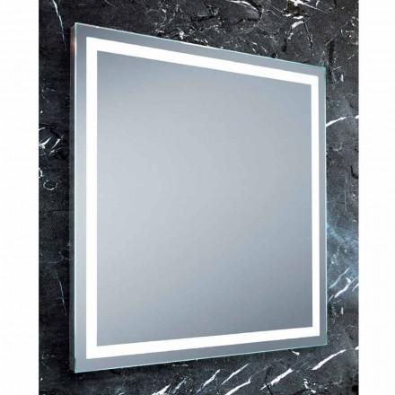 Espejo Cuarto de baño de diseño moderno con iluminación LED Paco