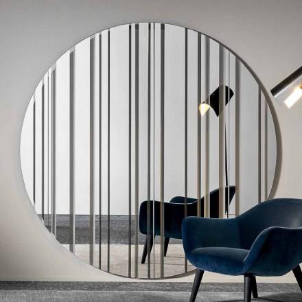 Espejo de Pared Redondo Diàmetro 200 cm Hecho en Italia - Coriandolo