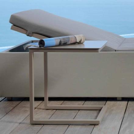 Mesa de centro de jardín de diseño Talenti Chic al 43cm fabricada en Italia