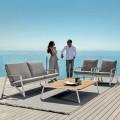 Composición de la sala de estar al aire libre Talenti Cottage hecha en Italia