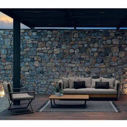 Talenti Domino composición diseño jardín lounge hecho en Italia