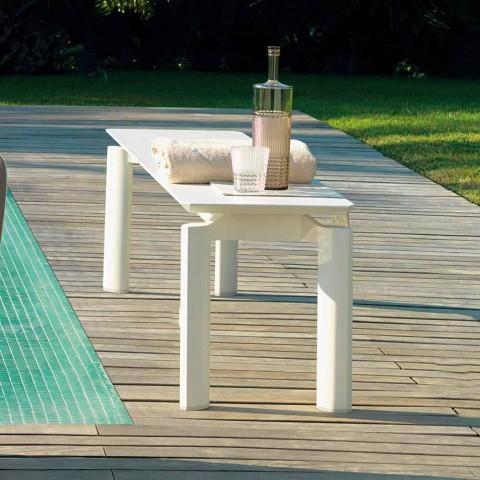 Banco de jardín de diseño moderno Talenti Milo hecho en Italia