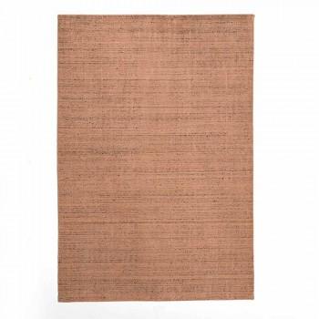 Alfombra de Salón Realizada en Telar Manual en Viscosa Lana y Algodón - Cristel
