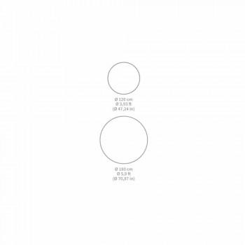 Alfombra redonda de vinilo Fantasy para cocina moderna - Rondeo