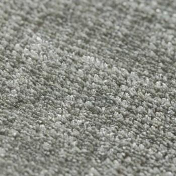 Alfombra de algodón y viscosa versátil personalizable - Mutter