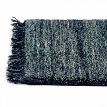 Alfombra de salón de diseño moderno versátil en 100% lana - Pepita