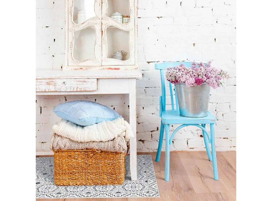 Alfombra rectangular para sala de estar en vinilo de fantasía de mayólica moderna - Costa