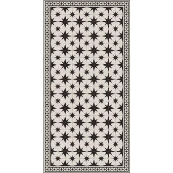 Alfombra de vinilo rectangular de diseño moderno con fantasía - Osturio
