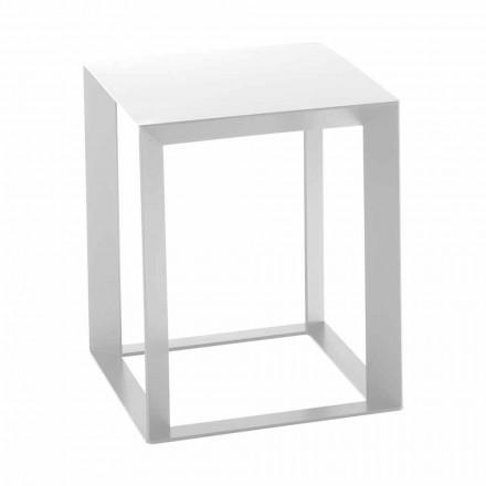 Mesa de centro cuadrada de metal de diseño 2 dimensiones - Josyane