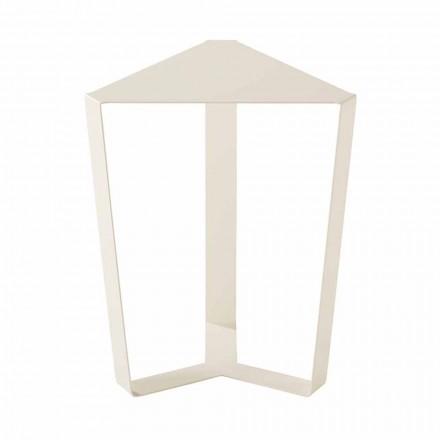Mesa de centro de metal para exteriores, varios colores, diseño italiano moderno - Yasmine