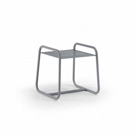 Mesa de centro al aire libre de metal coloreado de alta calidad Made in Italy - Karol