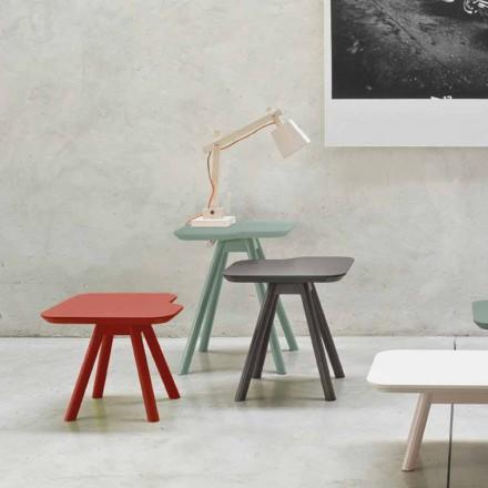 Mesa de centro de alta calidad en fresno macizo Made in Italy - Ulm