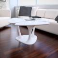 Mesita de diseño moderno fabricada en Italia modelo Amanita