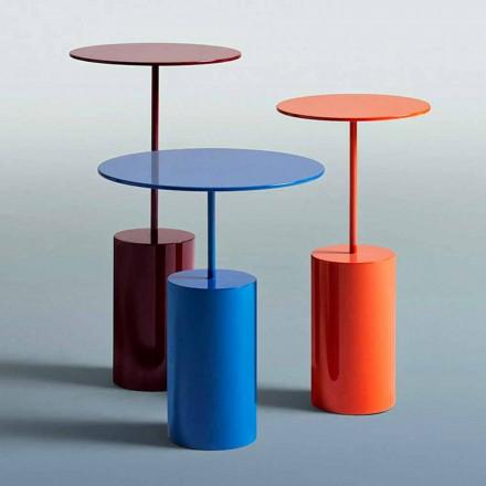 Mesa redonda de color de diseño moderno para sala de estar - Cóctel