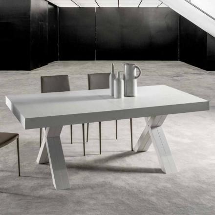 Mesa extensible con tapa en madera laminada - Atessa