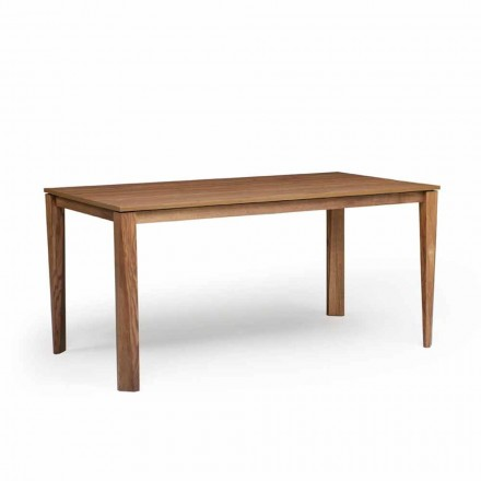 Mesa de diseño extensible con base de madera de fresno, Medicina