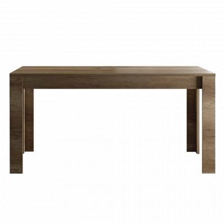 Mesa extensible hasta 185 cm de Melamina Diseño Made in Italy - Ketra