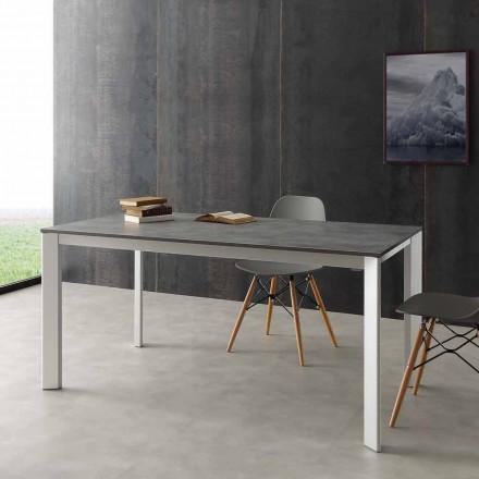 Mesa extensible hasta 3 metros de aluminio y laminado Hpl Urbino