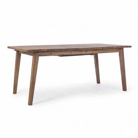 Mesa de exterior extensible hasta 240 cm en madera de acacia - Howard